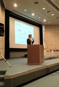 神戸市医師会様主催の「税務に関する説明会」での講演の様子