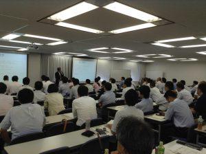 2013年9月6日「開業医マーケットのコンサルティング」講演風景