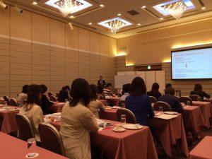 2013年9月26日「開業医奥様向け経営セミナー」講演風景